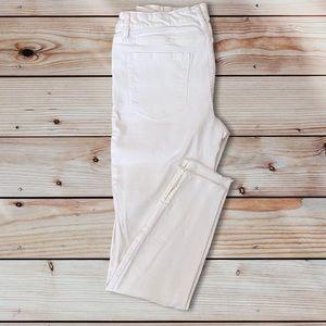 🌵4/$20 White Joe Fresh Raw Hem Skinny Jeans